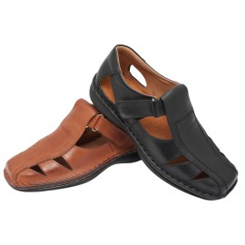 Men leather sandals 1