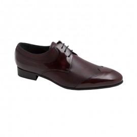 Zapatos Vestir Piel Antic burdeos
