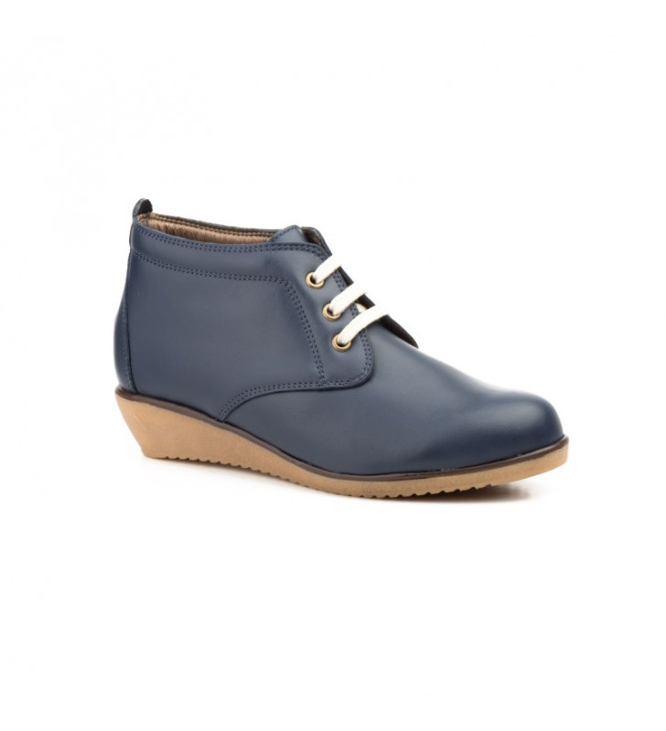 Comfortable Ankle Boot Woman Tupie ​​60tp blue