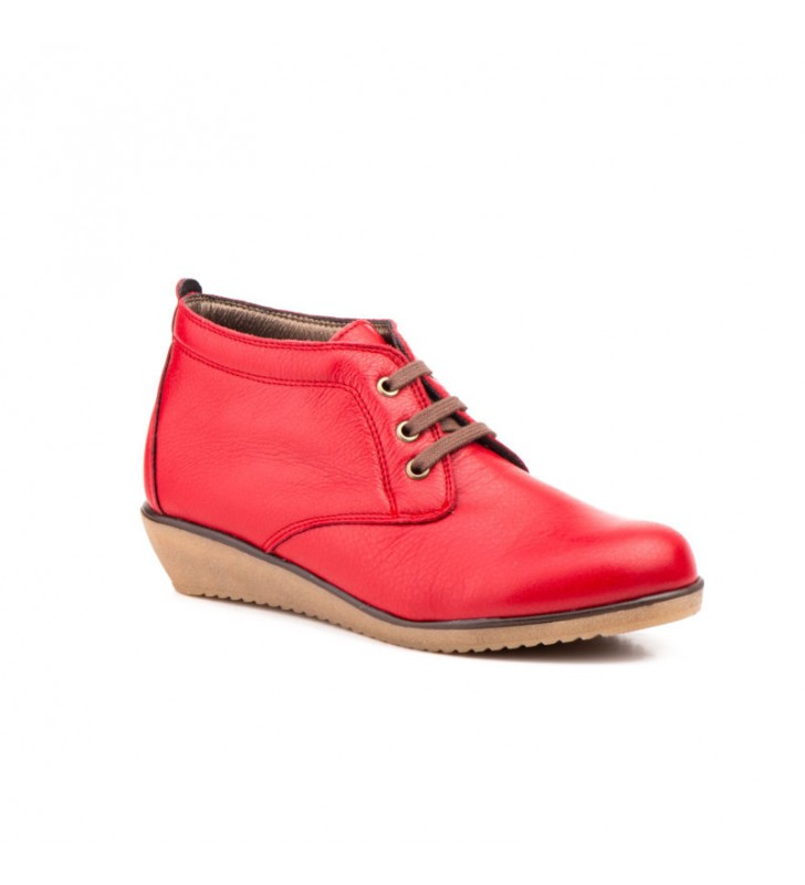 Comfortable Ankle Boot Woman red Tupie ​​60tp