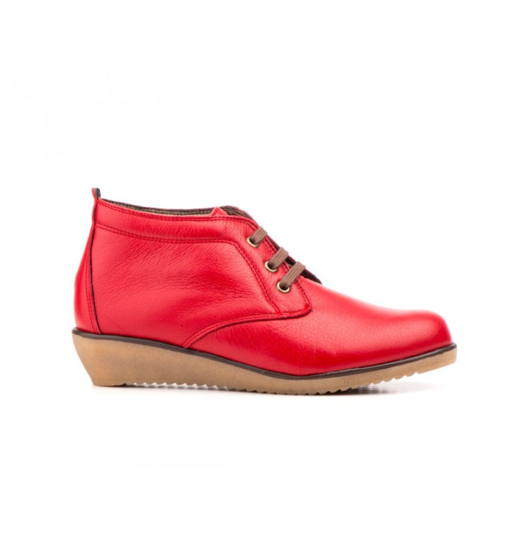 Comfortable Ankle Boot Woman red Tupie ​​60tp 1