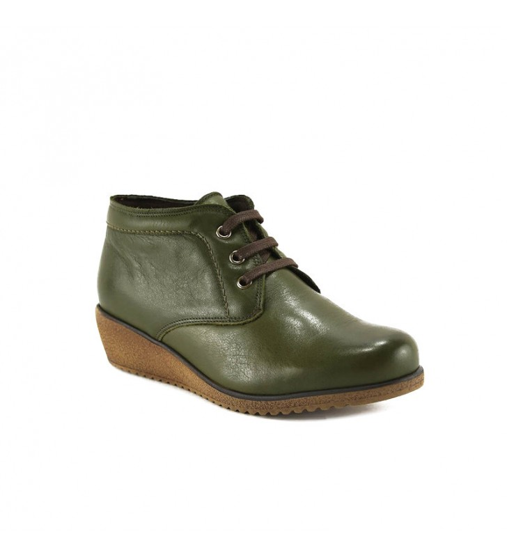 Comfortable Ankle Boot Woman Tupie ​​60tp green