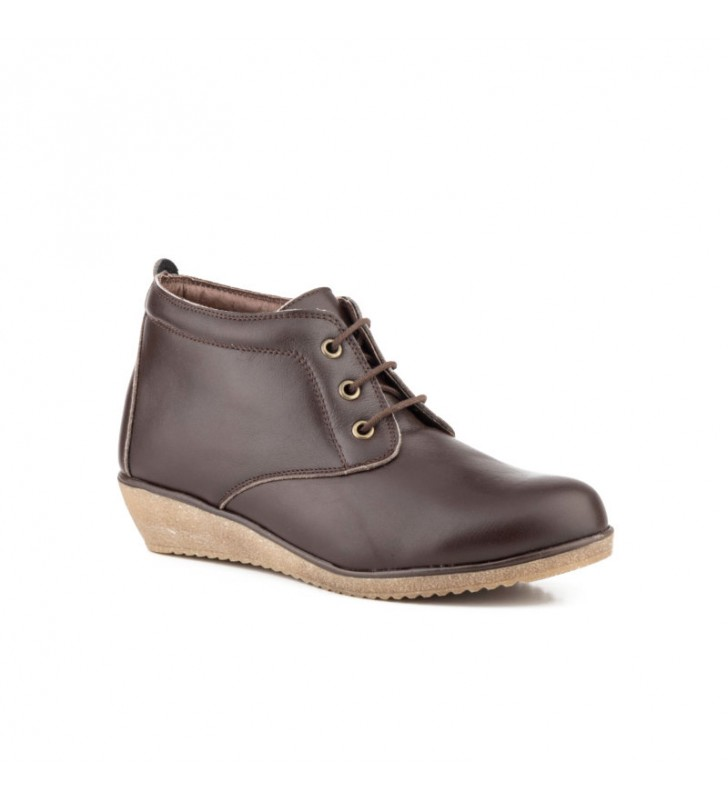 Comfortable Ankle Boot Woman Tupie ​​60tp brown