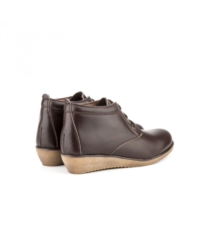 Comfortable Ankle Boot Woman Tupie ​​60tp brown 3