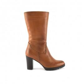 Leather Boot Woman Leather Heel bda