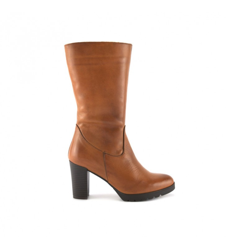 Leather Boot Woman Leather Heel bda