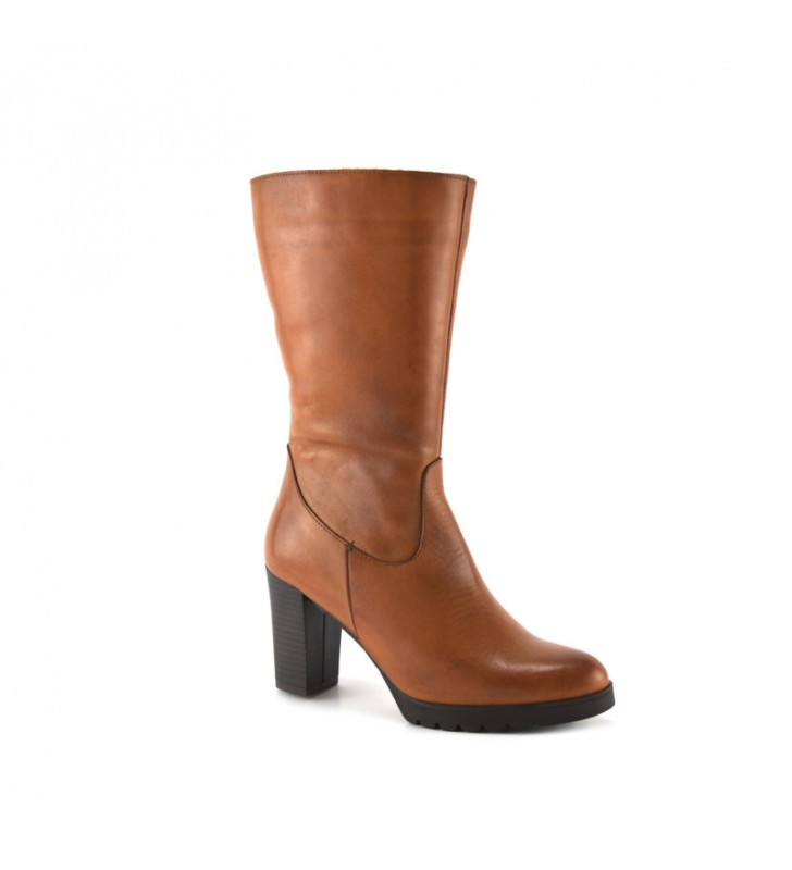 Leather Boot Woman Leather Heel bda 1