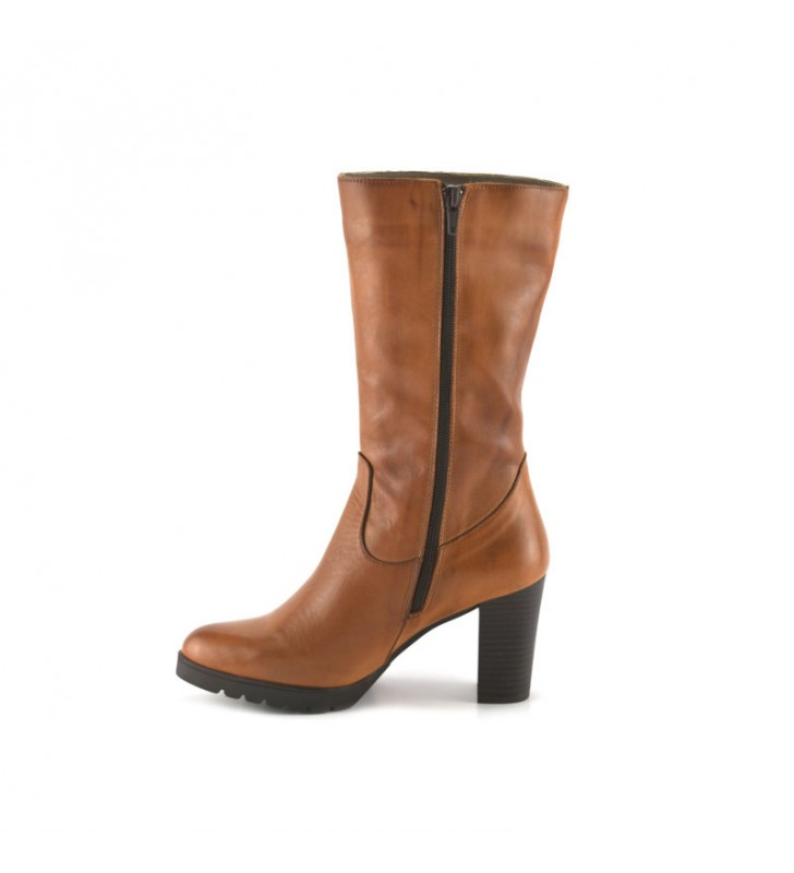 Leather Boot Woman Leather Heel bda 2
