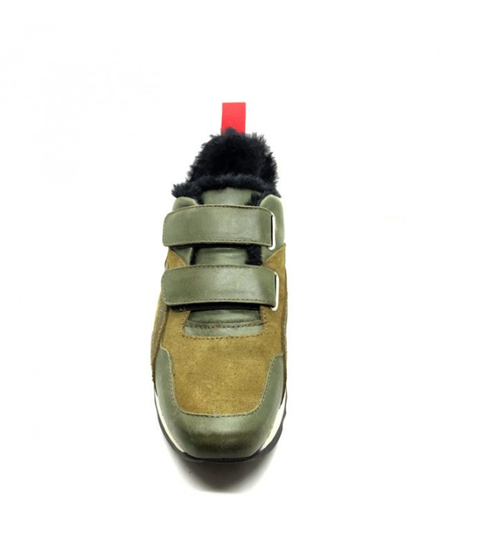 Urban woman casual leather sneaker 5