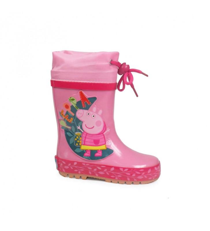 Bota de Agua Infantil Rosa Peppa Pig