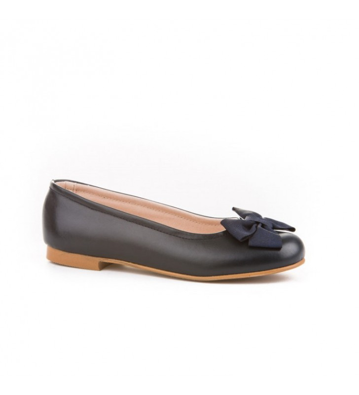 Ballerinas Girl of Marine Leather Angelitos 1