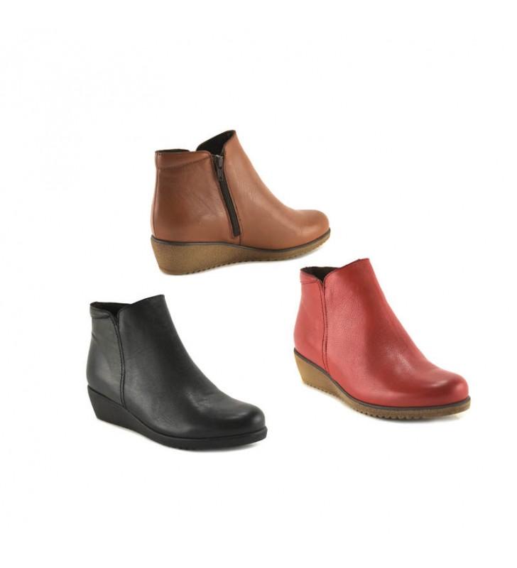 Women's Tupie Leather Bootie 4