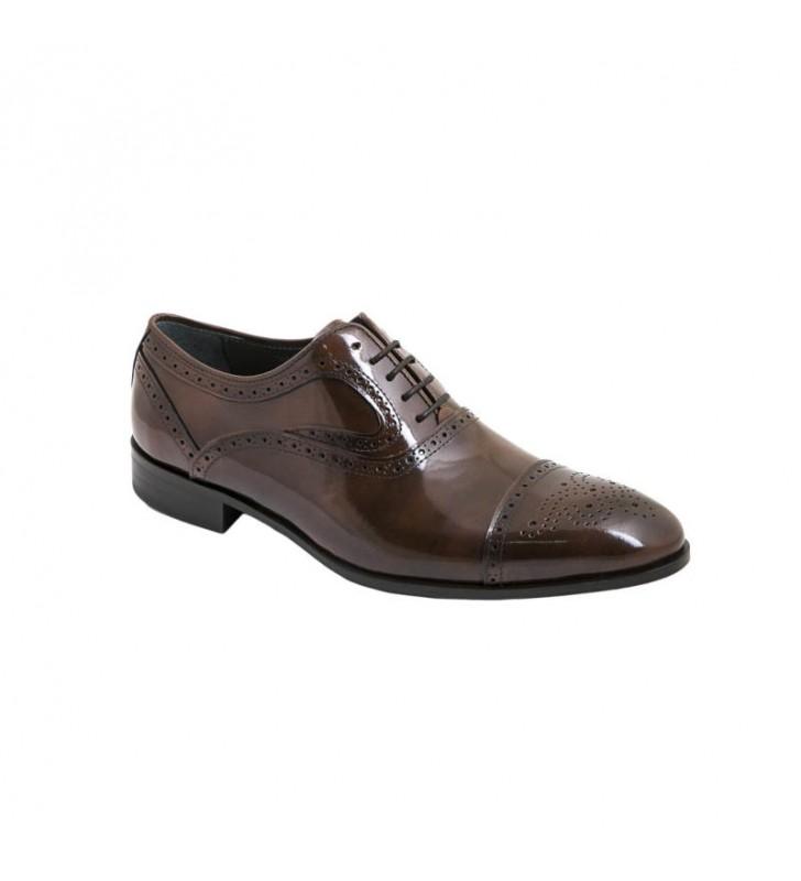 Zapato Caballero Traje Florentic Marino cuero