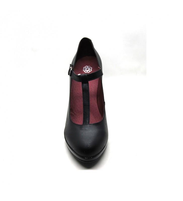 Salons woman high heeled leather 2