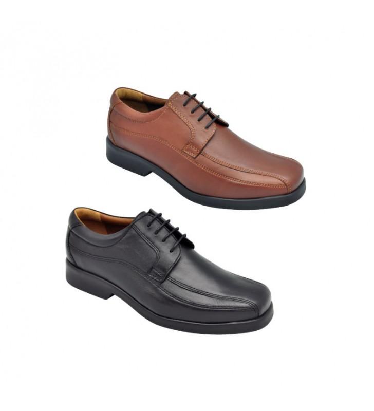 Zapato Hombre Cómodo Ancho Especial