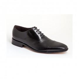 Zapatos Hombre Vestir Negro Piel