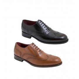 Leather Shoes Man Oxford Dress