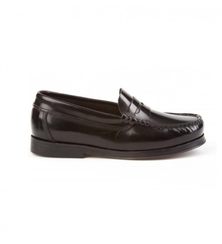 Zapatos niño castellanos negro