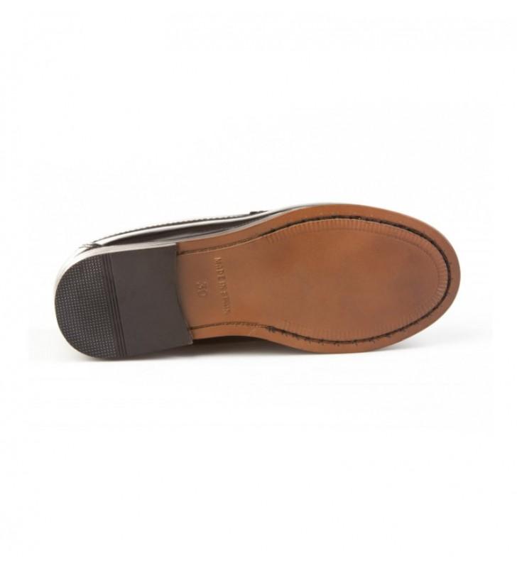 Zapatos niño castellanos negro 2