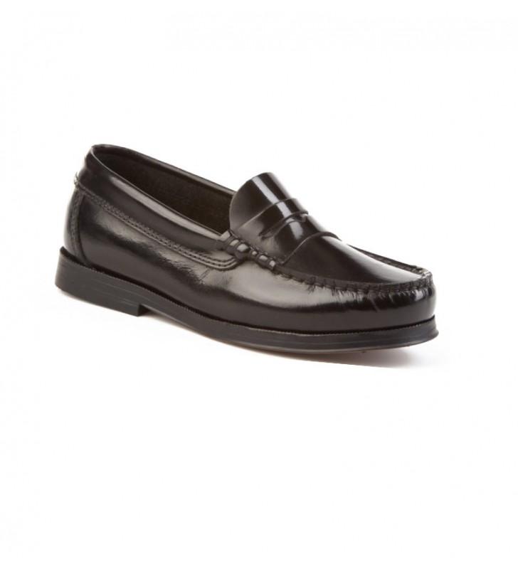 Zapatos niño castellanos negro 1