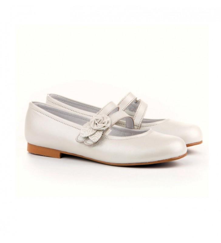 46a8dad5c Zapatos Comunión Niña Angelitos  Zapatos Comunión Niña Angelitos Beige ...
