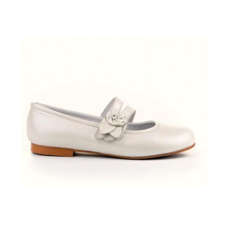 Zapatos Comunión Niña Angelitos Beige 1