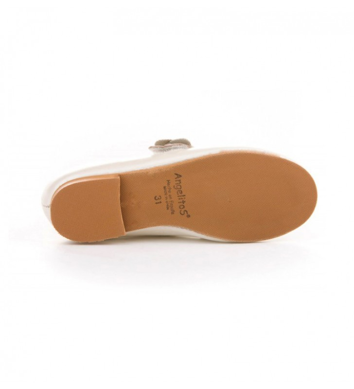Zapatos Comunión Niña Angelitos Beige 3