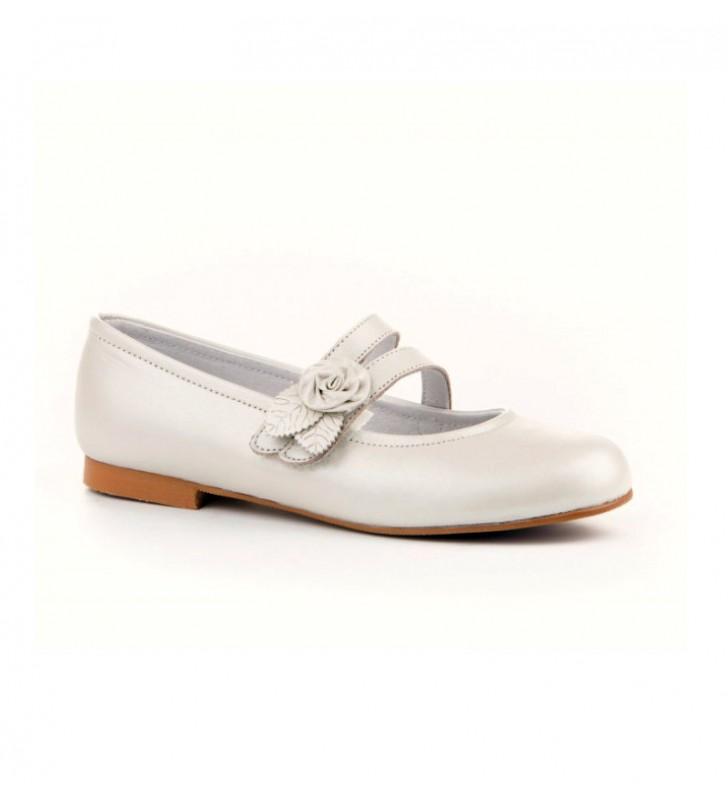Zapatos Comunión Niña Angelitos Beige 2