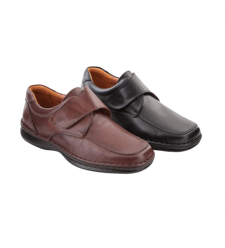 Velcro comfortable knight shoe