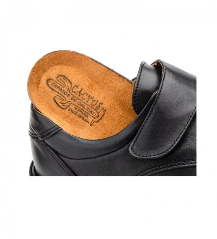 Zapato caballero cómodo velcro