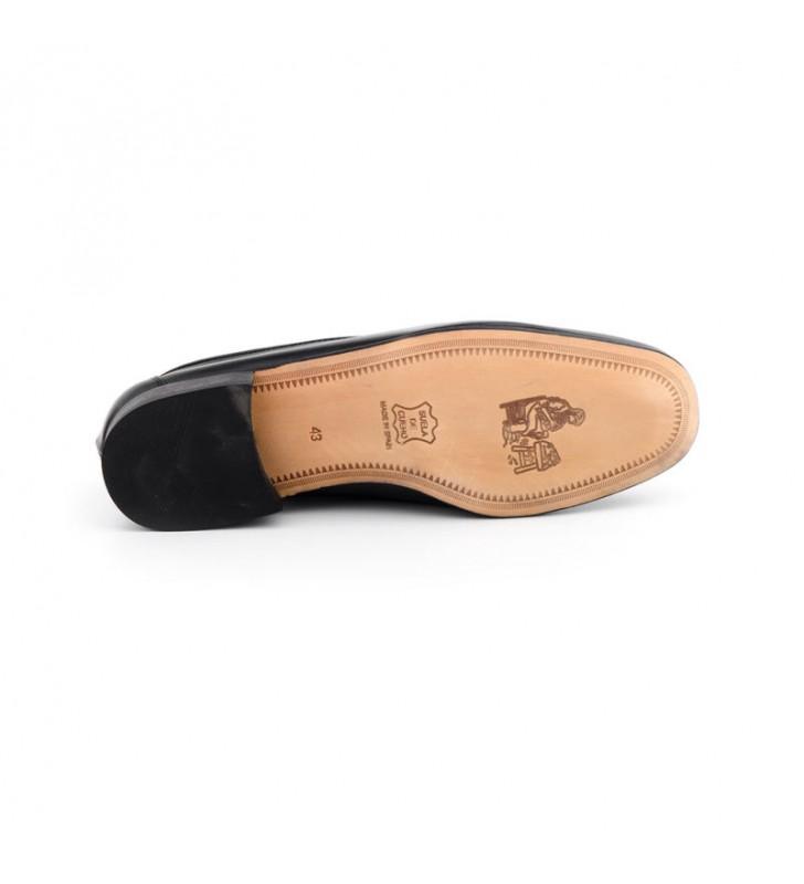 Leather shoe JULIO IGLESIAS