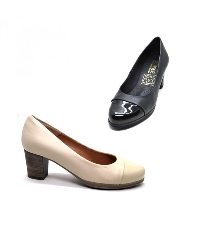 e6c014b51376 Zapatos Mujer Piel Salón Desireé