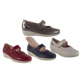 Zapato confort velcro