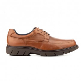 Man derby leather shoes laces