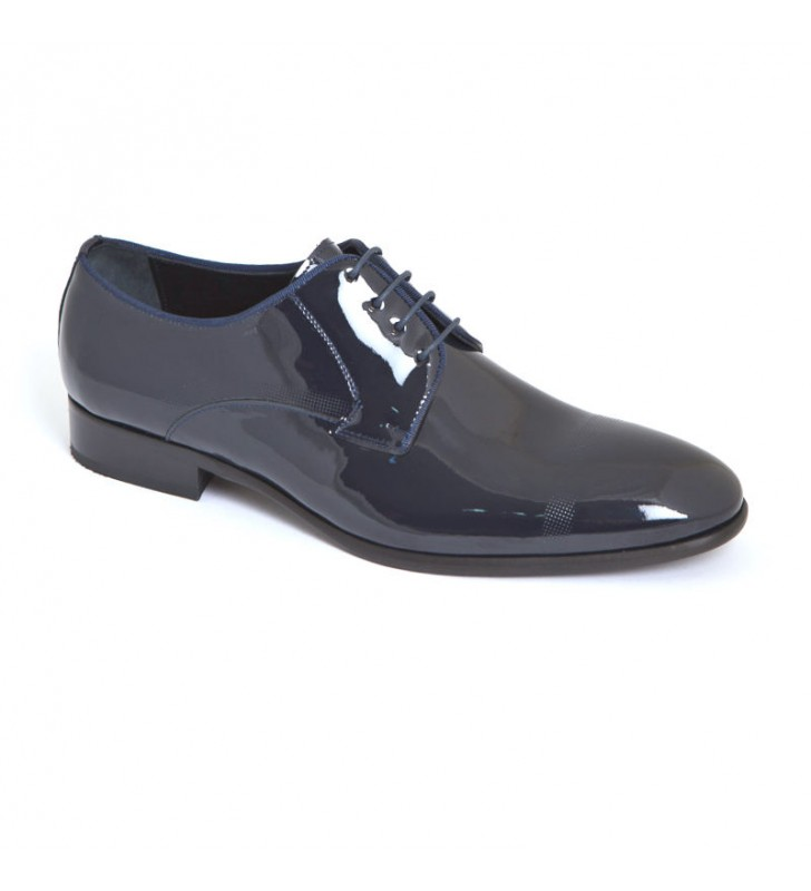 Zapatos Charol Marino
