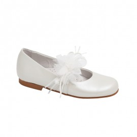 Communion Baby Girl Shoe Beige