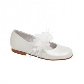 Communion Baby Girl Shoe Beige