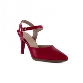 Zapato Mujer Ceremonia Rojo