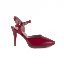Woman Red Ceremony Shoe