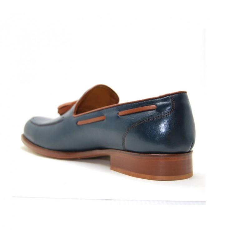 b8f74df264e Zapato Hombre Piel Borlas