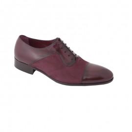 Zapatos vestir charol burdeos