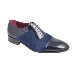Zapatos Charol Marino y Ante