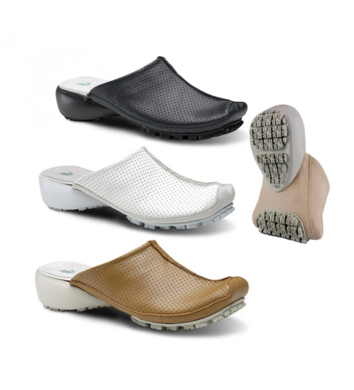 Clogs Woman Work Comfortable Skin