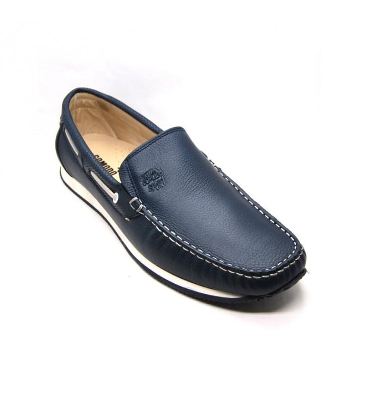 Iniciativa melón Animado  Man Leather Loafers Comodo Sport