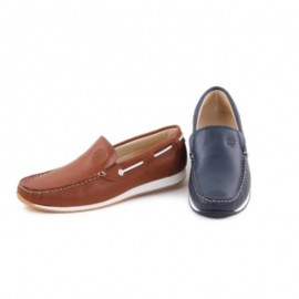 Man Leather Loafers Comodo Sport