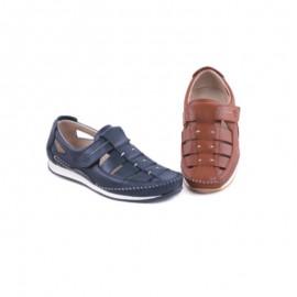 Sandalias hombre Cómodas Velcro