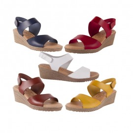 Comfort Wedge Sandal Gel Skin