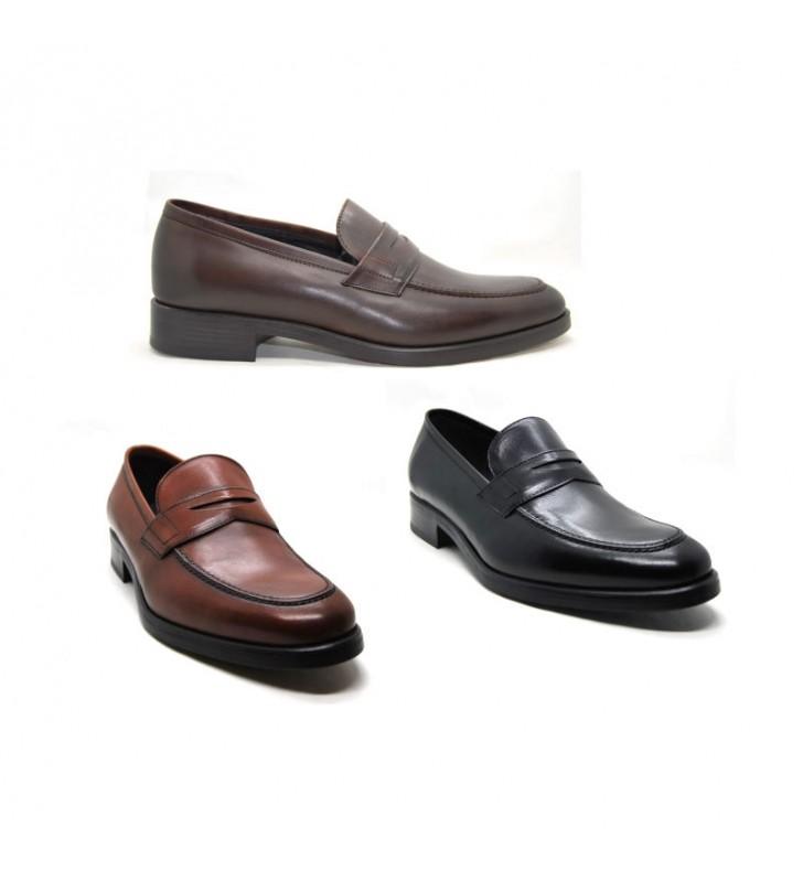 bebé 60% de liquidación real mejor valorado Zapatos hombre mocasines piel