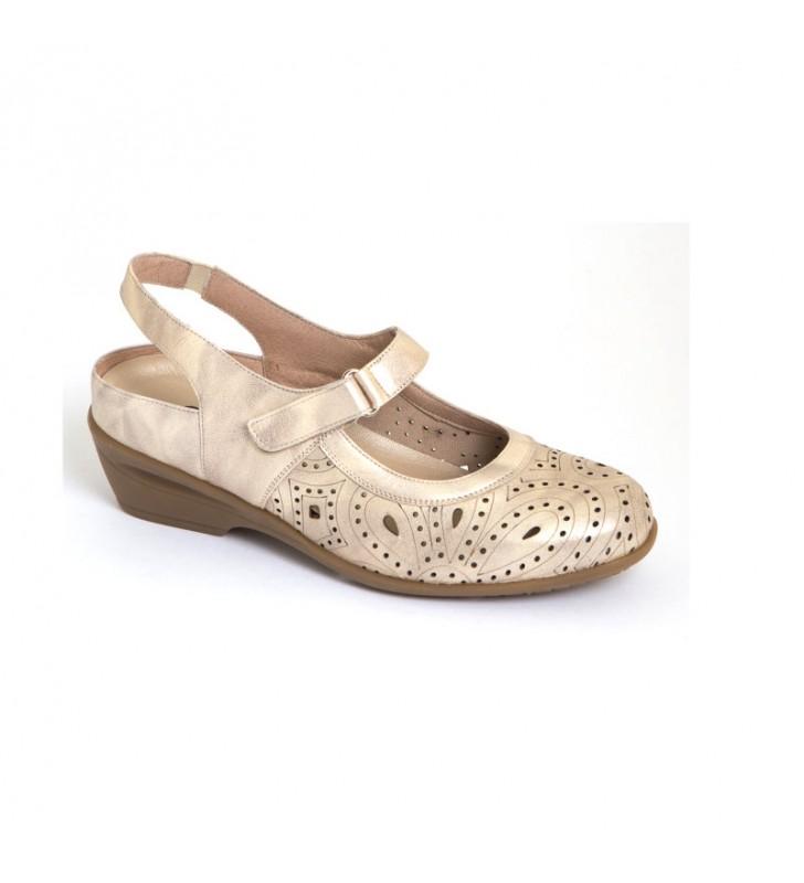Sandalias señora ancho especial cómodas