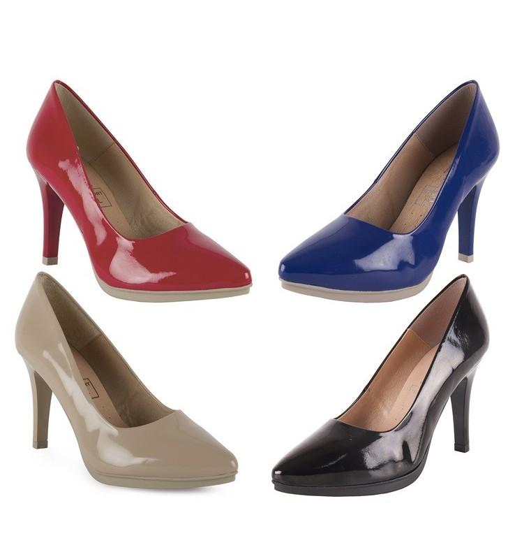 Zapatos Piel Charol